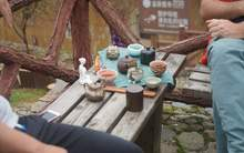 Moychay china tea travel in south fujian mountains tulou 80