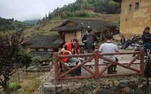 Moychay china tea travel in south fujian mountains tulou 95